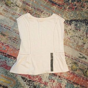 Banana Republic peplum top